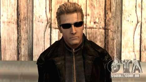 Albert Wesker na capa para GTA San Andreas terceira tela