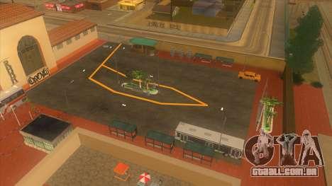 Estação de autocarros, Los Santos para GTA San Andreas sétima tela