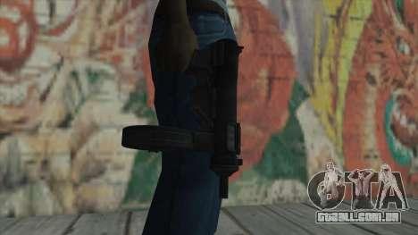 MP5 de Fallout New Vegas para GTA San Andreas terceira tela