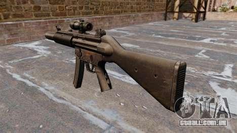 Pistola-metralhadora HK MP5SD2 para GTA 4 segundo screenshot