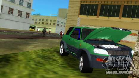 Toyota RAV 4 L 94 Fun Cruiser para GTA Vice City vista lateral