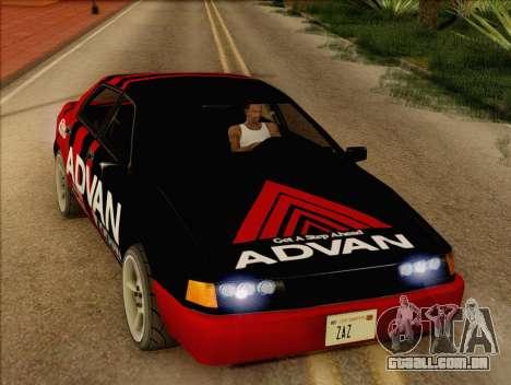 Stratum Sedan Sport para GTA San Andreas vista direita