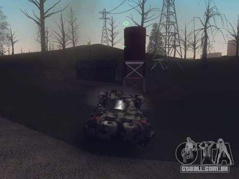 BMP-2 para GTA San Andreas vista direita