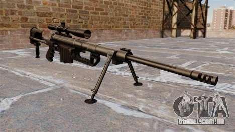 Rifle sniper intervenção CheyTac para GTA 4