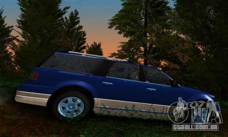 Landstalker GTA IV para GTA San Andreas esquerda vista