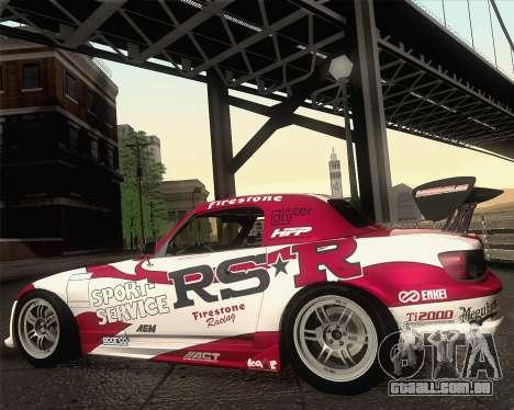 Honda S2000 RS-R para GTA San Andreas interior