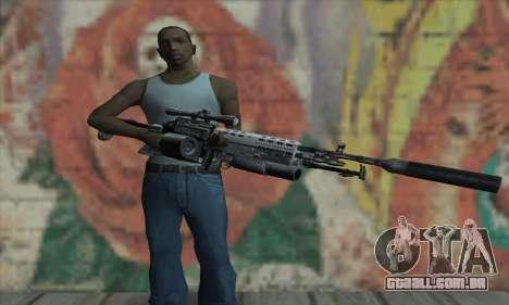 MK14 para GTA San Andreas terceira tela