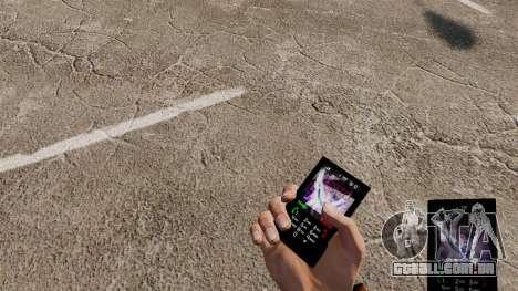 O tema para o telefone Tiesto para GTA 4