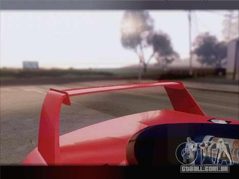 Dodge Viper Competition Coupe para as rodas de GTA San Andreas