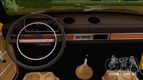 VAZ 21011 Taxi para vista lateral GTA San Andreas