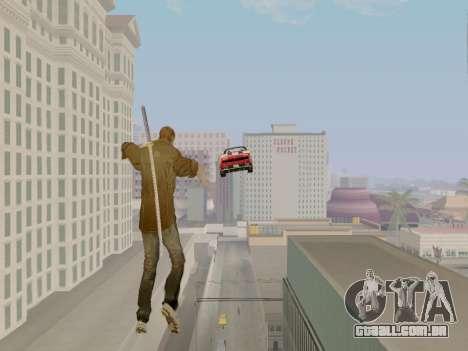 Clay Kaczmarek ACR para GTA San Andreas por diante tela