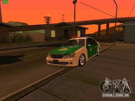 Mercedes-Benz  E500 Polizei para GTA San Andreas