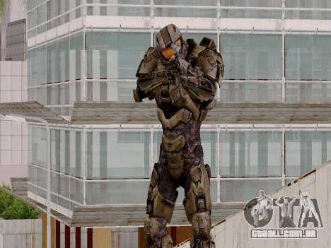 Master Chief para GTA San Andreas