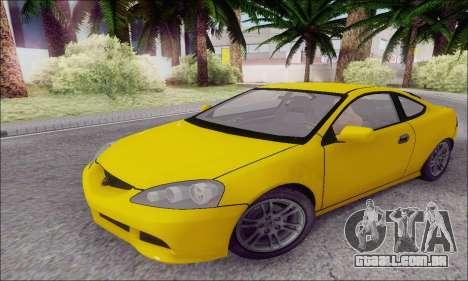 Acura RSX para GTA San Andreas esquerda vista