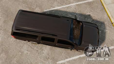 Chevrolet Suburban Slicktop 2008 [ELS] para GTA 4 vista direita