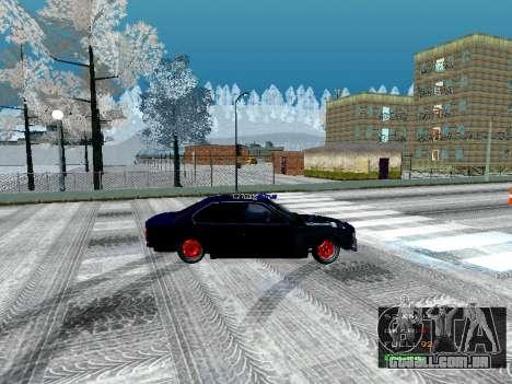 BMW 525i e34 Hobo para GTA San Andreas esquerda vista