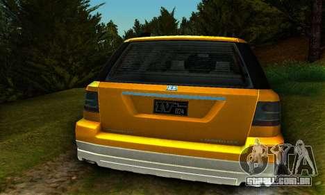 Landstalker GTA IV para GTA San Andreas vista direita