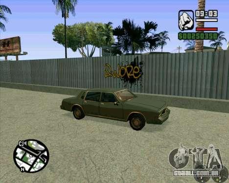 Novo HD Skate Park para GTA San Andreas quinto tela