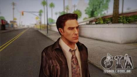 Max Payne Skin para GTA San Andreas terceira tela
