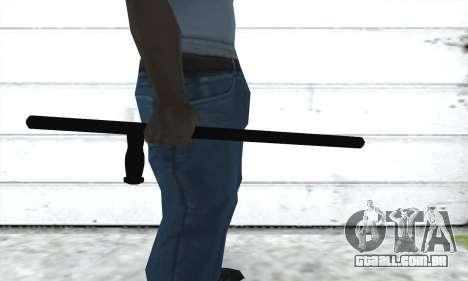 Bastão telescópico para GTA San Andreas segunda tela