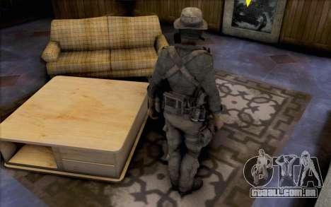 Capitão preço (com máscara) para GTA San Andreas terceira tela