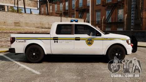 Ford F-150 2012 CEPS [ELS] para GTA 4 esquerda vista
