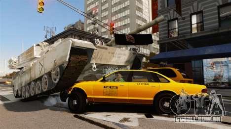 Script tanque V estilo para GTA 4
