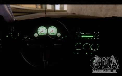 Volkswagen Golf Mk3 para GTA San Andreas vista direita