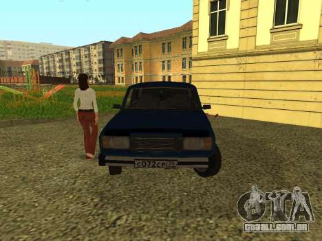 VAZ 2105 para GTA San Andreas vista direita
