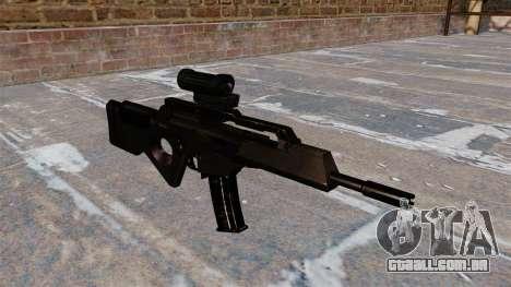 HK SL8 rifle Bullpup para GTA 4