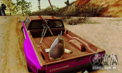 Dodge Ram 3500 para GTA San Andreas vista inferior