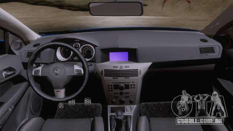 Vauxhall Astra VXR  2007 para GTA San Andreas vista direita