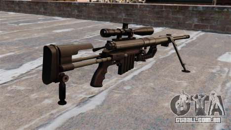 Rifle sniper intervenção CheyTac para GTA 4 segundo screenshot