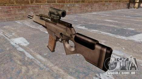 HK SL8 rifle Bullpup para GTA 4 segundo screenshot