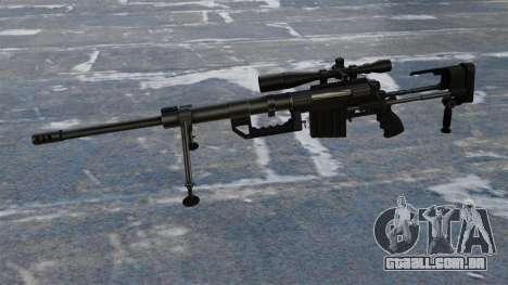 Rifle sniper intervenção CheyTac para GTA 4 terceira tela