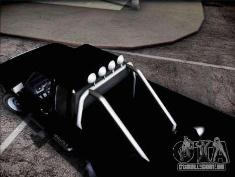 Lince de insípida GTA V para GTA San Andreas traseira esquerda vista