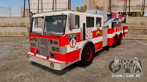 MTL Firetruck Tower Ladder FDLC [ELS-EPM] para GTA 4