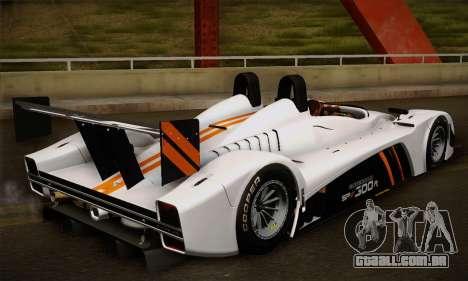 Caterham-Lola SP300.R para GTA San Andreas vista traseira