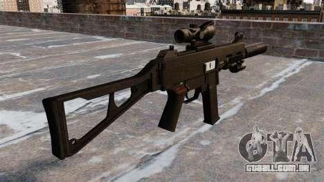 Pistola-metralhadora UMP45 para GTA 4 segundo screenshot