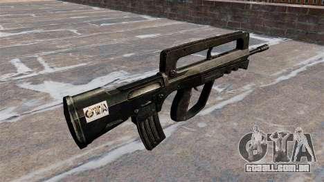 Fuzil de assalto FAMAS para GTA 4 segundo screenshot