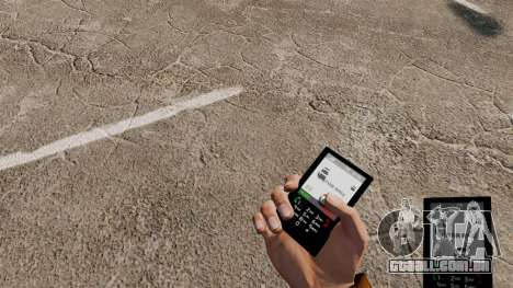 O tema para o telefone da G-Star para GTA 4