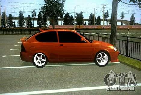 VAZ-2172 Coupe Sport para GTA San Andreas vista interior