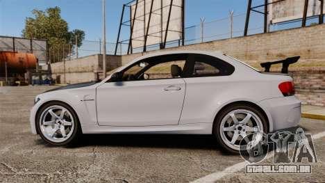 BMW 1M 2014 para GTA 4 esquerda vista