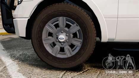 Ford F-150 2012 CEPS [ELS] para GTA 4 vista de volta