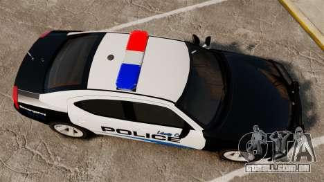 Dodge Charger 2010 Police [ELS] para GTA 4 vista direita