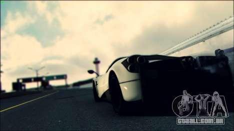 Sonic Unbelievable Shader v7.1 (ENB Series) para GTA San Andreas por diante tela