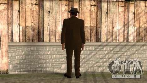 Cole Phelps de L.A. Noire para GTA San Andreas segunda tela