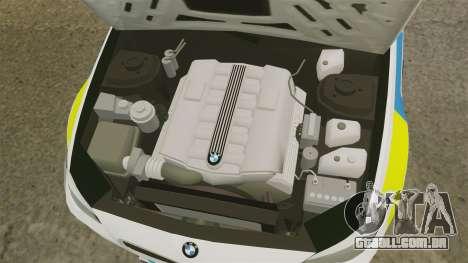 BMW M5 Ambulance [ELS] para GTA 4 vista interior