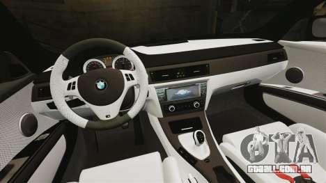 BMW M3 GTS Widebody para GTA 4 vista inferior