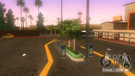 Estação de autocarros, Los Santos para GTA San Andreas terceira tela